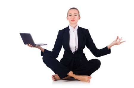 bigstock-Businesswoman-meditating-isola-56051171